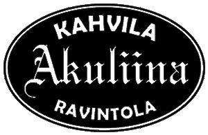 Kahvila-ravintola Akuliinan logo