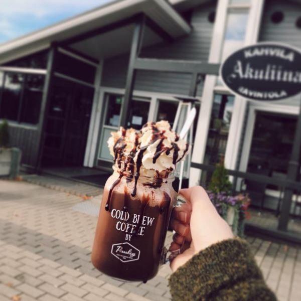 Nauti Cold Brew Coffee Kahvila-Ravintola Akuliinassa